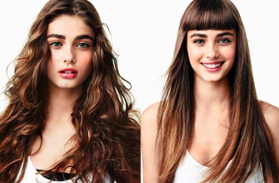 Cambio de look sin cortar el pelo